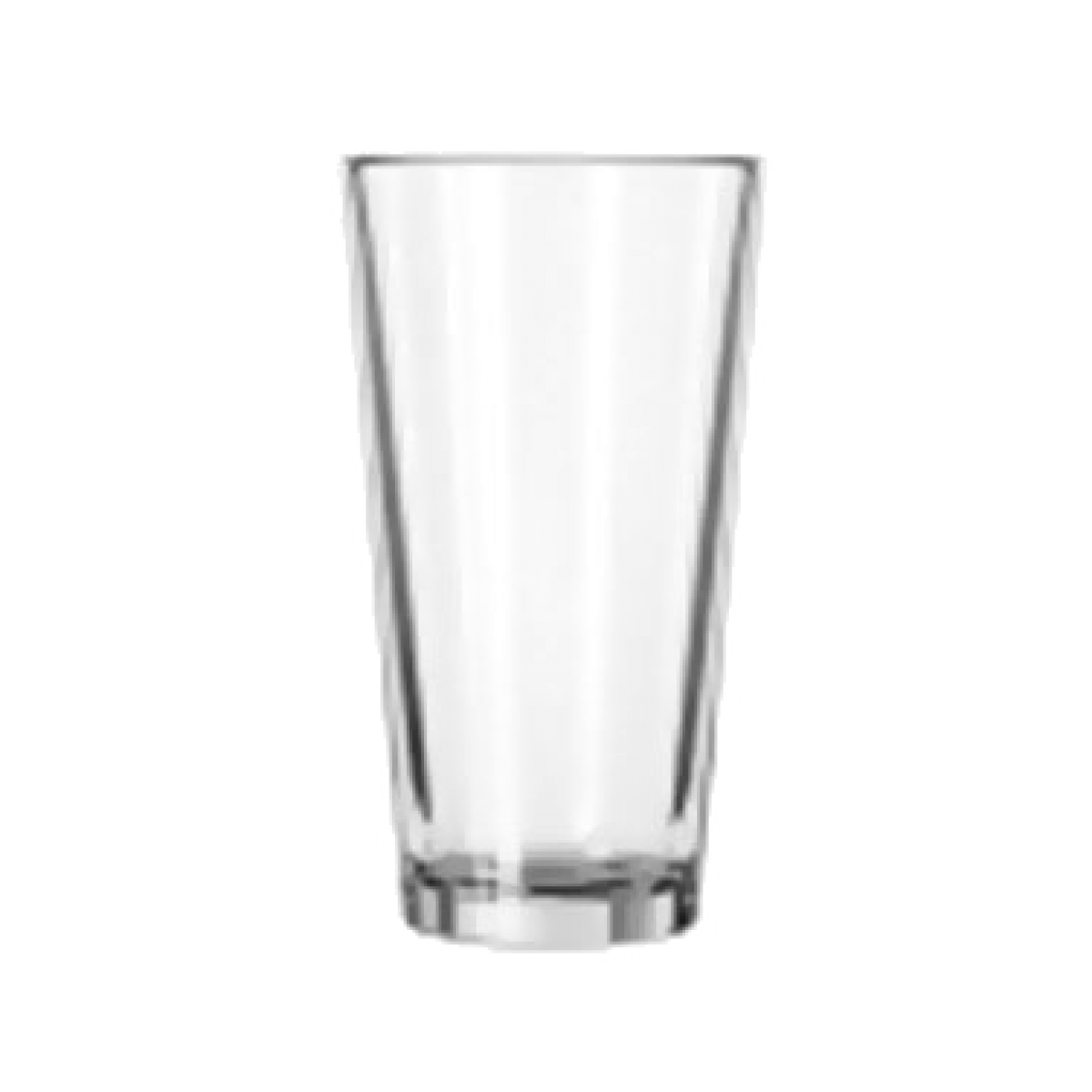 Buy libbey 15385 mixing glass 16 oz tall glass clear duratuff restaur - Chaise polycarbonate transparent ...
