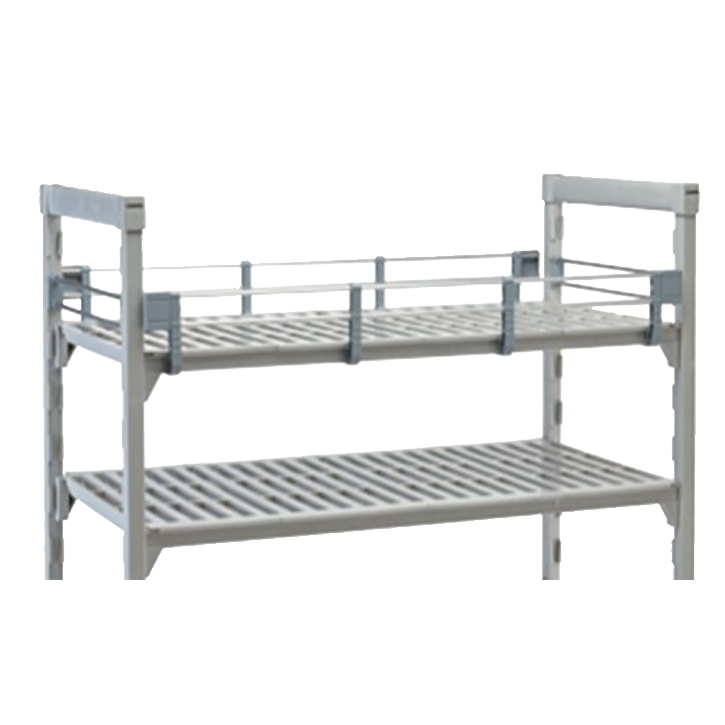 "Camshelving® Premium Three-Quarter Shelf Rail Kit, 14""W x 42""L x 4-1/4""H, includ"