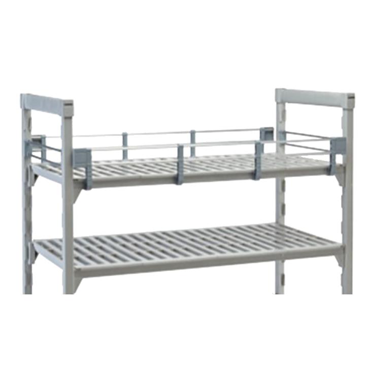 "Camshelving® Premium Three-Quarter Shelf Rail Kit, 14""W x 48""L x 4-1/4""H, includ"