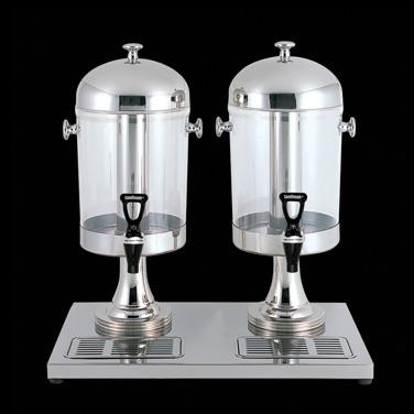 "Juice Dispenser, double, 22"" x 13-3/4"" x 22-3/4"", WNK Buffet (USA stock item) (m"