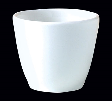 "Cup, 3 oz., 2-1/2""W x 2-1/8""H, tall, unhandled, Distinction, Monaco White (USA s"