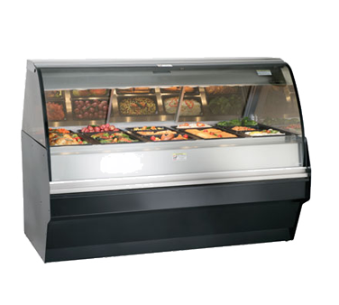 Halo Heat® Hot Deli Display System, self-service, TY2-72/P display case mounted
