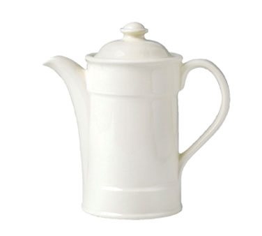 Coffee Pot, 15 oz., with lid #3, vitrified china, Performance, Ivory (priced per