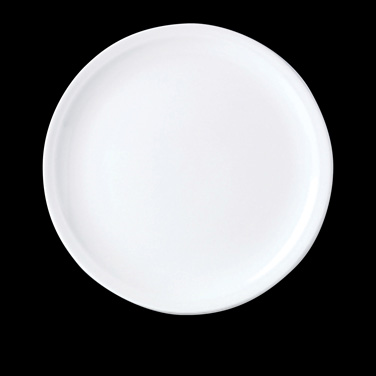 "Pizza Plate, 12-1/2"" dia., round, vitrified china, Performance, Simplicity, Rio"