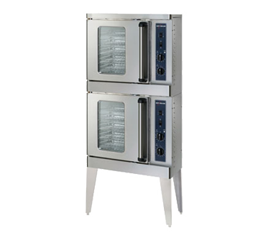 Platinum Series Convection Oven, Electric, stacked, half-size, electronic contro