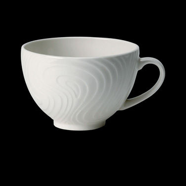 Cup, 8 oz., low, ceramic, Distinction, Optik™ (USA stock item) (minimum = case q