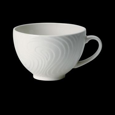 Cup, 8 oz., low, ceramic, Distinction, Optik™ (USA stock item) (minimum = case q