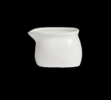 """Creamer, 5 oz., 2-7/8""""W x 2""""H, without handle, porcelain, Varick Alpha-Ceram (US"""