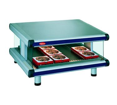 Designer Slant Display Warmer, free-standing, (1) shelf with (6) rods, adjustabl