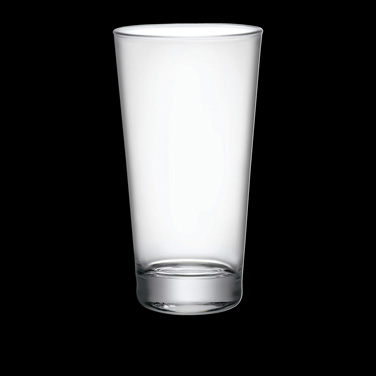 "Highball Glass, 13-1/4 oz., 3"" x 5-3/4"", Bormioli, Sestriere (priced per case, p"