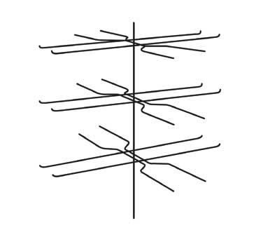 (3) tier Pretzel Tree