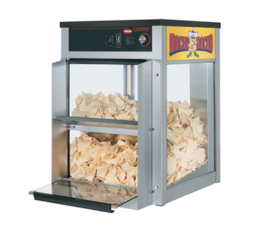 Macho Nacho™ Chip Warmer, front loading & dispensing door, main deck shelf only,
