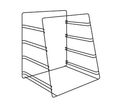 (4) tier pan rack (accommodates half size bun pans), ADD