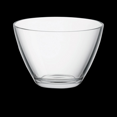 "Bowl, 10 oz., 4"" x 2-3/4"", stackable, glass, clear, Bormioli, Zeno (USA stock it"