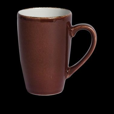 Quench Mug, 10 oz., vitrified china, Performance, Terramesa, mocha (USA stock it