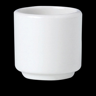 "Egg Cup, 1-7/8"", footless, vitrified china, Performance, Ivory, Claret (UK stock"