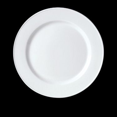 "Service/Chop Plate, 11-3/4"" dia., round, vitrified china, Performance, Simplicit"
