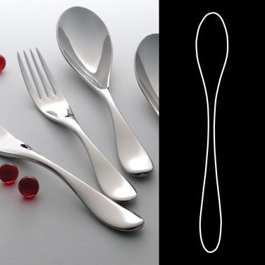 "Iced Tea Spoon, 7-1/2"", 18/10 stainless steel, WNK, Ovation (USA stock item) (mi"
