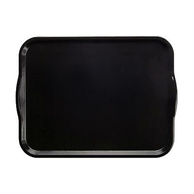 "Camtray® Dietary Tray, with handles, rectangular, 14"" x 18"", reinforced fibergla"