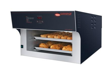 Flav-R-Savor® Air Curtain Heated Display Pass-Thru Cabinet, counter model, (2) t