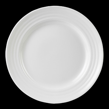 "Plate, 6-1/4"" dia., round, bone china, Royal Court Ronde de les Anges, Narumi (S"