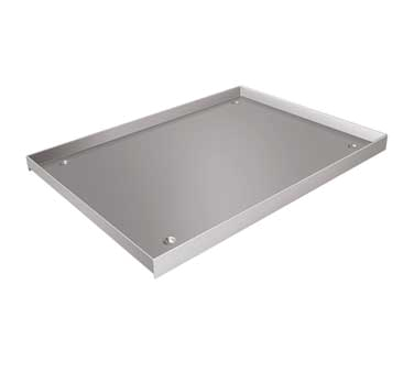 "Stainless Steel Custom Drip Pan (20"""" x 26-3/4"""" x 1"""")"