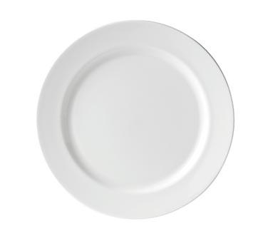 "Connaught Plate, 11-1/2"" dia. (29-1/4 cm), round, wide rim, plain edge, microwav"