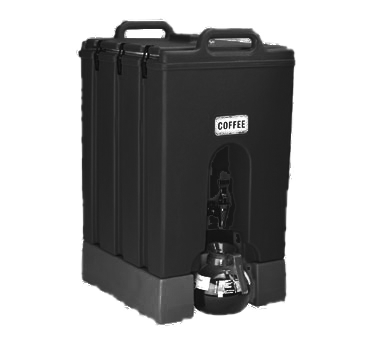 "Camtainer® Beverage Carrier, insulated plastic, 11-3/4 gallon, 20-3/4""D x 16-1/4"