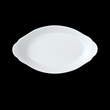 "Eared Dish, 6-1/2 oz., 5-3/4"" dia., round, vitrified china, Performance, Simplic"