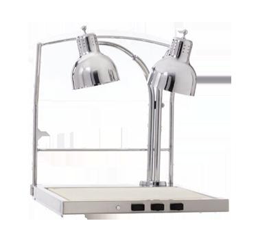 "Hot Carving Shelf, 30-7/8"" x 26"" x 30-7/8"", indicator light, infrared lamp, (3)"