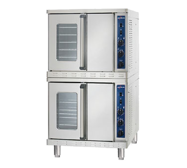 Platinum Series Convection Oven, Gas, stacked, standard depth, electronic spark