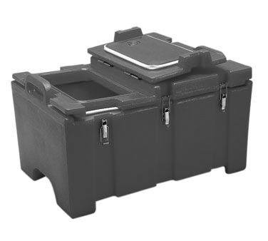 "100 Series Food Pan Carrier, for 12"" x 20"" food pans, hinged lid, 18""D x 26-3/4"""