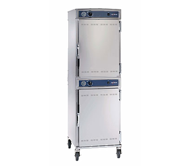Halo Heat® Proofing Cabinet, mobile, double-compartment, on/off simple control w