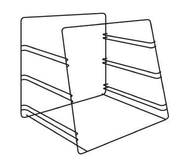 (3) tier pan rack (accommodates half size bun pans), ADD
