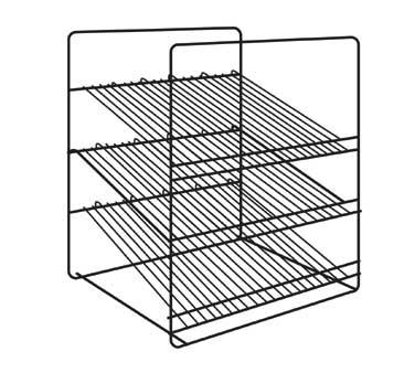 3 Shelf angle rack (shelves slant at 15° angle), ADD