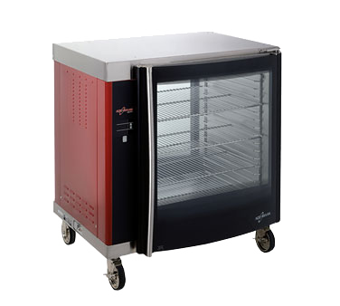 Halo Heat® Holding Cabinet, solid back, single compartment, (1) ON/OFF adjustabl