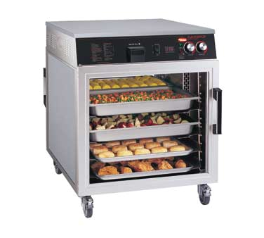 Flav-R-Savor® Holding Cabinet, Pass-Thru, Mobile Heated, thermostatically-contro
