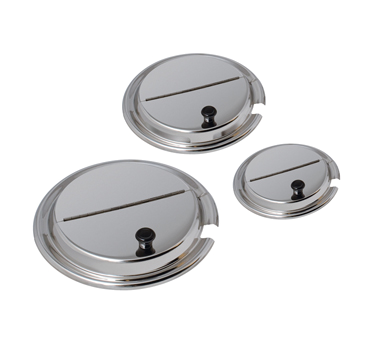Lid, round hinged and notched, 7 quart