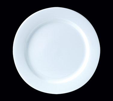 "Plate, 10"" dia., round, Distinction, Monaco, Monaco White (Canada stock item) (m"