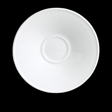 "Saucer, 6-1/2"" dia., round, (matches 6300P192), porcelain, Aura, Rene Ozorio (US"