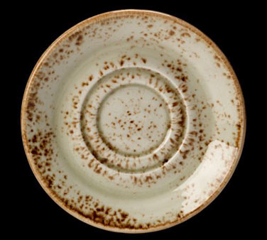 """Saucer, 5-3/4"""", double well, freezer/microwave/dishwasher safe, lifetime edge ch"""