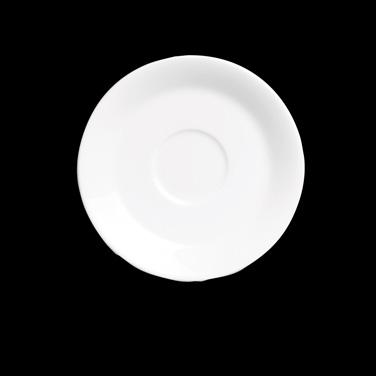 Demitasse Saucer, bone china, Narumi, Royal Court White (Special Order) (minimum