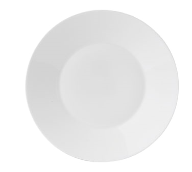"Jasper Conran Salad Plate, 9"" dia., round, wide rim, dishwasher safe, bone china"