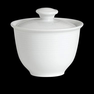 Lid, for teacup, without handles (Fits P144), porcelain, Rene Ozorio, Aura Asian