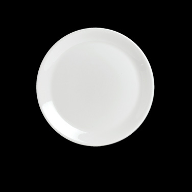 "Plate, 10"" dia., round, coupe, vitrified china, Performance, Taste (Canada stock"