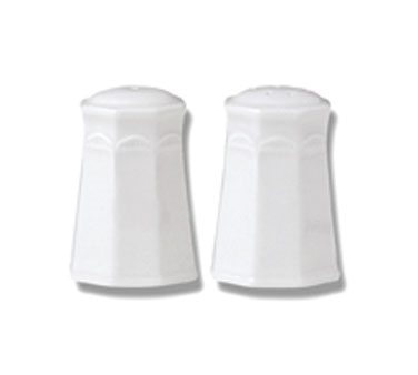 Salt Shaker, vitrified china, Performance, Monte Carlo, Monte Carlo White (UK st