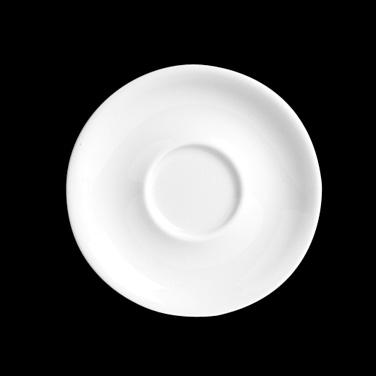 "Espresso Saucer, 4-3/4"" dia., round, porcelain, Eden, Pillivuyt, Eden (minimum ="