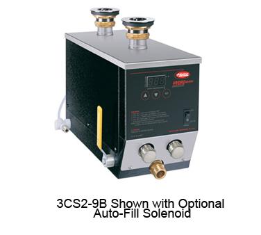 Hydro-Heater Sanitizing Sink Heater, Electric, undersink design, stainless steel