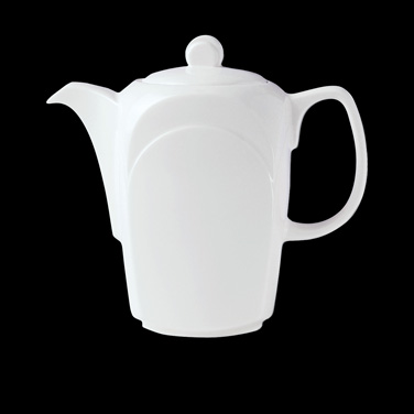 Coffee Pot, 11 oz., Lid D, Distinction, Bianco, Bianco White (priced per case, p