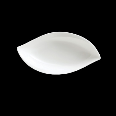 "Leaf Bowl, 10-3/4 oz., 10""L x 5-1/4""W x 2""H, bone china, Narumi Leaf (USA stock"